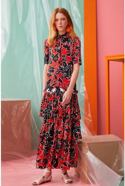 GIZIA Çiçek Desenli Elbise