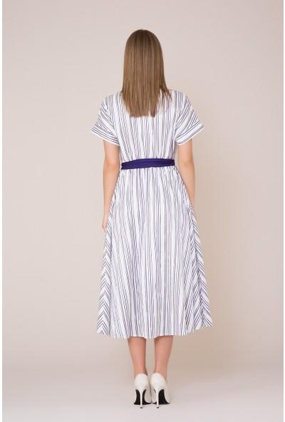 GIZIA Kuşak Detaylı Elbise