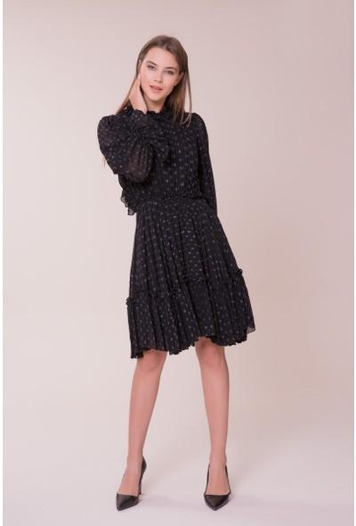 GIZIA Puantiye Detaylı Elbise