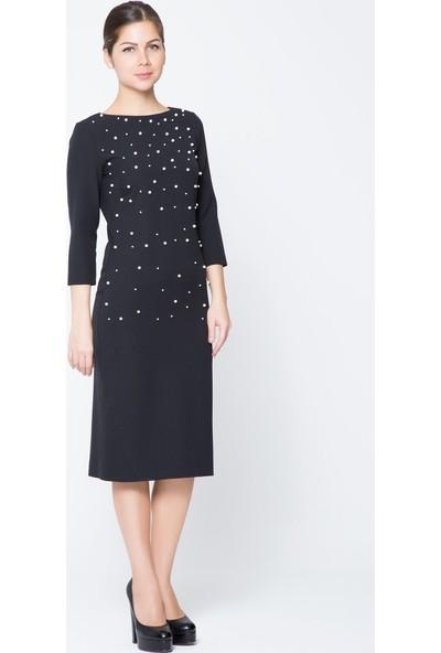 GIZIA İnci Detaylı Mini Elbise