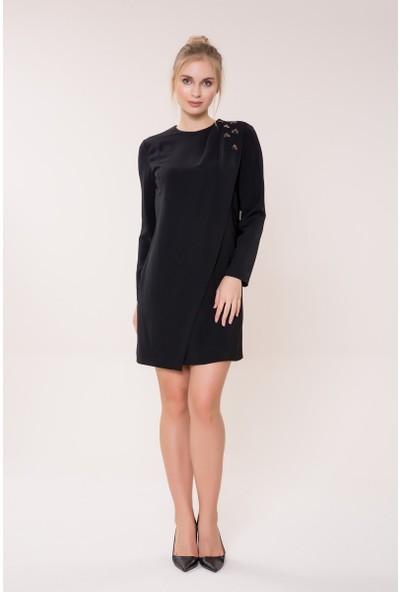 GIZIA Siyah Mini Elbise