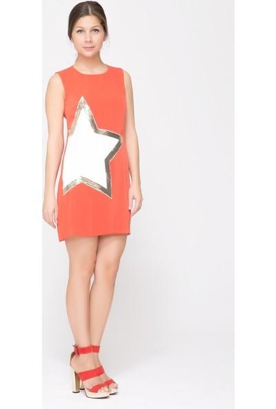 GIZIA Yıldız Detaylı Mini Elbise