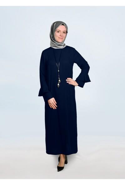 Mor Salkım Kadın Zerafet Elbise