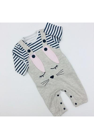 Murat Baby Erkek Bebek Tavşan Kulaklı Tulum