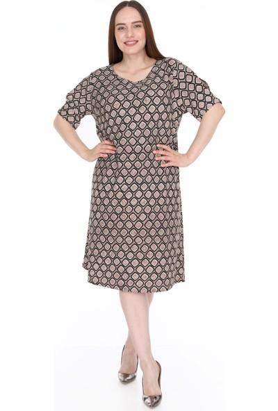 Lir Kadın Elbise Vizon
