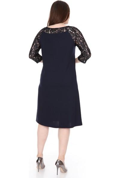 Lir Kadın Elbise Lacivert