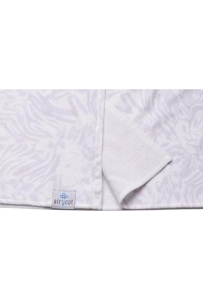 Airycot Kadın Pareo Plaj Eteği - Havlu Tiger Gray