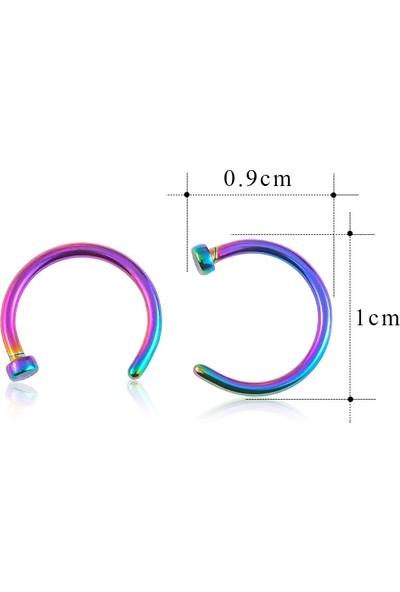 VipBT Titanyum Halka Hızma Burun Piercing