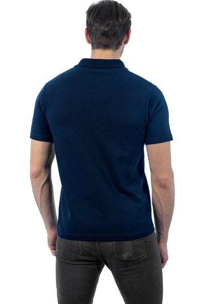 Şensel Polo Yaka Lacivert Polo Yaka T-Shirt