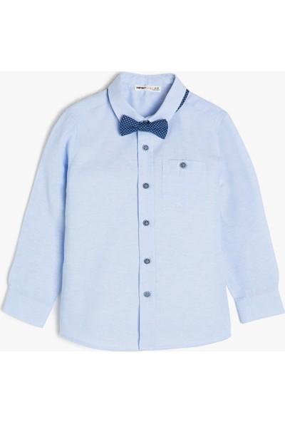 Koton Erkek Çocuk Papyon Detaylı Gömlek