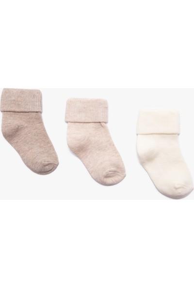 Koton Kız Çocuk Kız Bebek 3'Lü Çorap