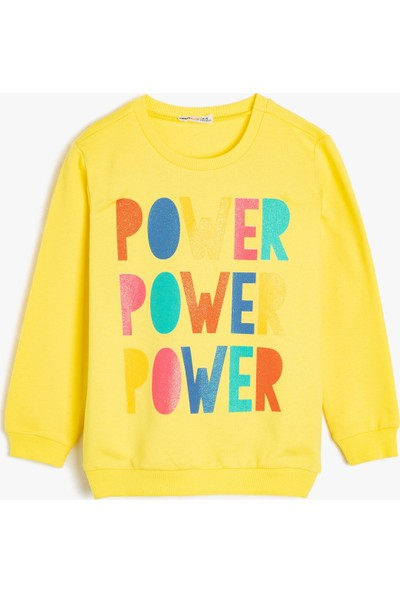 Koton Kız Çocuk Sweatshirt