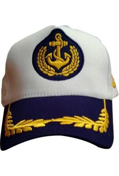 Müge Denizci Kaptan Şapkası