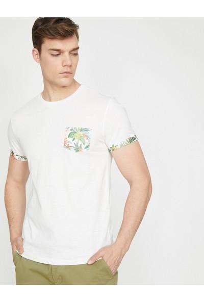 Koton Erkek Cep Detaylı T-Shirt