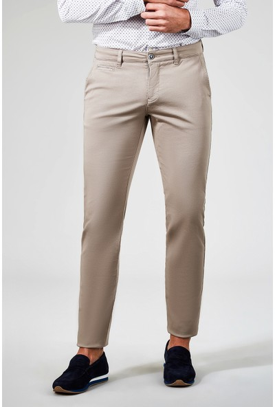 AVVA Vizon Erkek Dokuma Chino Basics Pantolon B003556