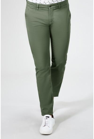 AVVA Yeşil Erkek Dokuma Chino Basics Pantolon B003556