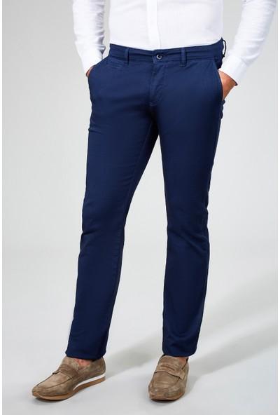 AVVA İndigo Erkek Dokuma Chino Basics Pantolon B003556