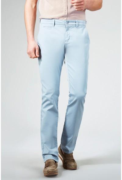 AVVA Mavi Erkek Dokuma Chino Basics Pantolon B003556