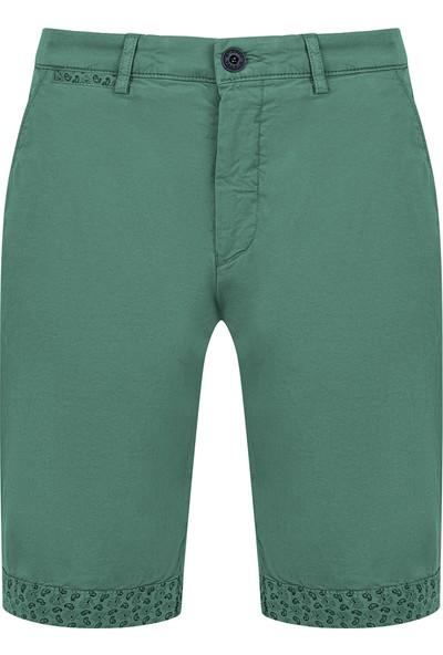 Avva Erkek Yeşil Yandan Cepli Düz Şort A91Y3607