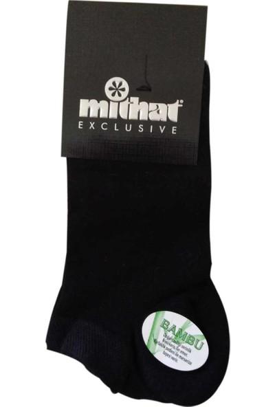 Mithat Yazlık 12'li Paket Ince Bambu Erkek Çorabı