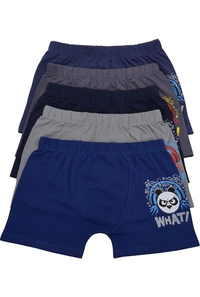 Nicoletta Erkek Çocuk Boxer 5'li Paket