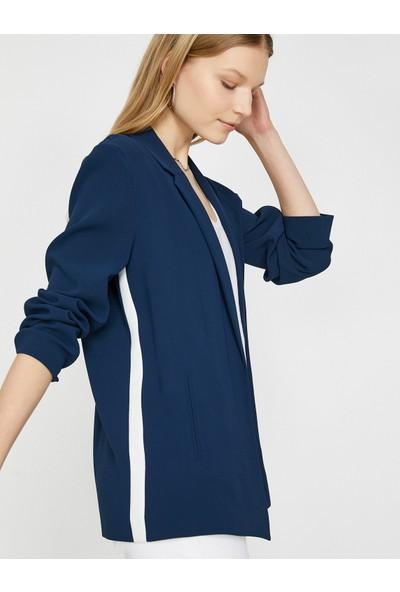 Koton Kadın Serit Detaylı Ceket