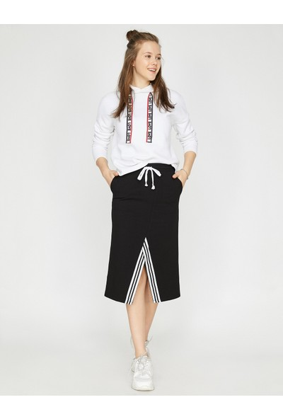 Koton Kadın Cep Detaylı Etek