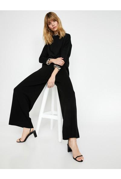 Koton Kadın Ispanyol Paça Pantolon