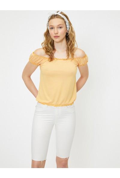 Koton Kadın Omzu Açık Bluz