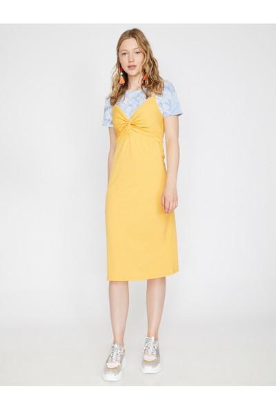 Koton Kadın Askılı Elbise