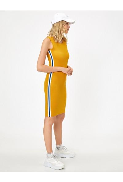 Koton Kadın Serit Detaylı Elbise