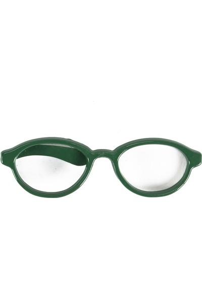Tudors Yeşil Gözlük Desenli Erkek Kravat İğnesi