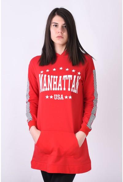 Sam Toni Manhattan Usa Kırmızı Tunik
