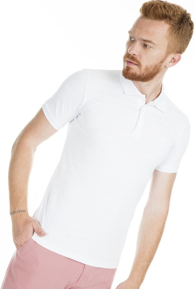 Breezy Düğmeli Polo Yaka T Shirt Erkek T Shirt 2019245