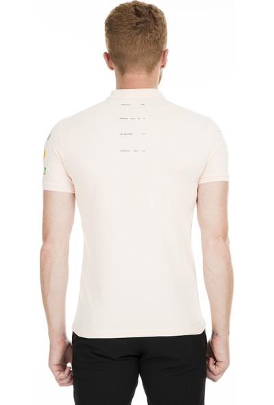 Breezy Düğmeli Polo Yaka T Shirt Erkek T Shirt 2040165