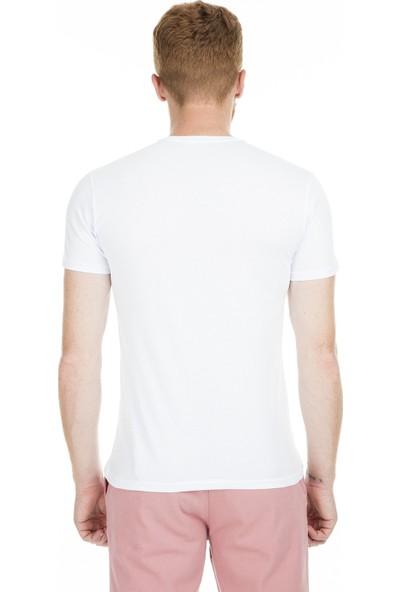 Breezy Baskılı Bisiklet Yaka T Shirt Erkek T Shirt 2040167