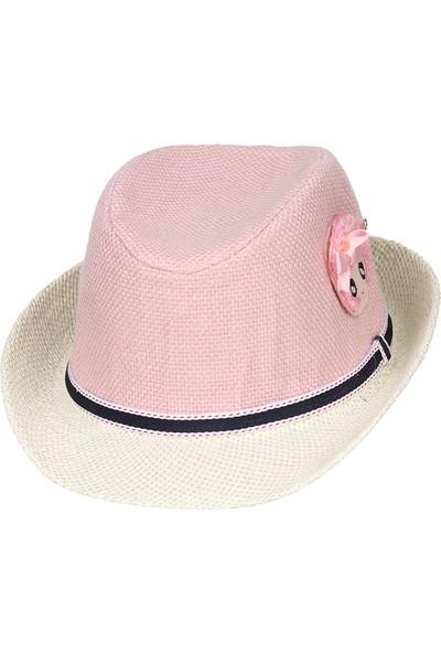 Kitti 2-6 Yaş Hasır Kız Çocuk Fötr Şapka