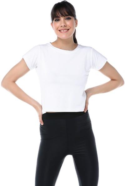 Ust Kadın Beyaz T-Shirt