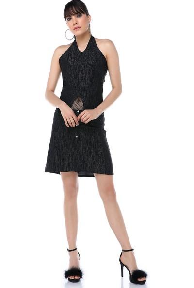 Ust Kadın Füme Elbise
