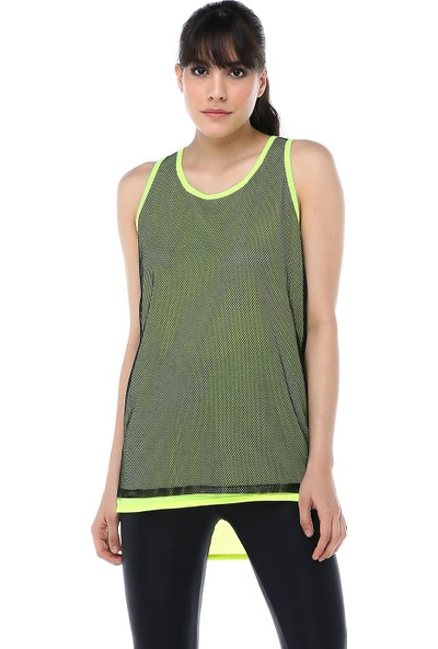 Ust Kadın Yeşil Fileli Atlet