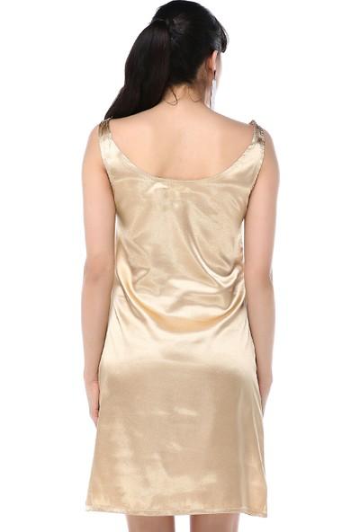 Ust Kadın Altın Elbise