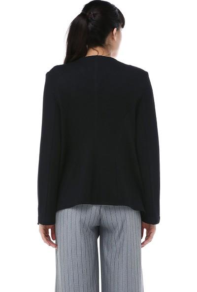 Ust Kadın Ceket Siyah