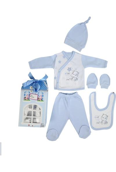 Monello Patisserie 5'li Erkek Bebek Hastane Çıkışı