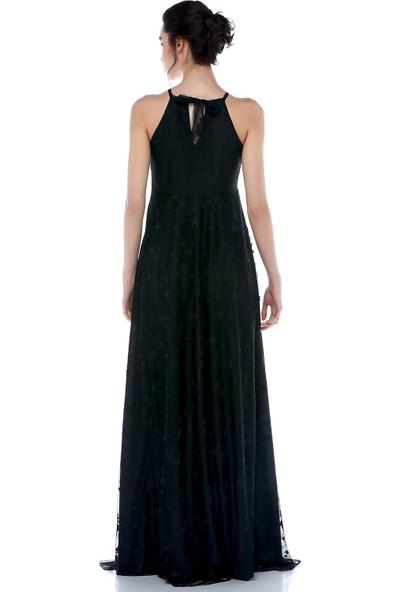 Moda Labio - Yıldız Tül Elbise Siyah