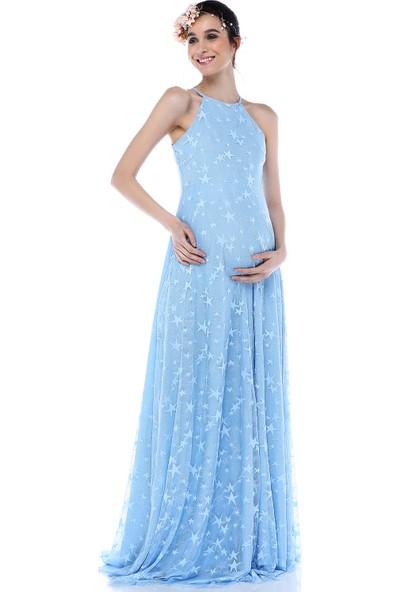 Moda Labio - Yıldız Tül Elbise Bebemavi