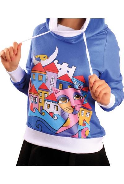 Biggdesign Owl And City Sweatshirt