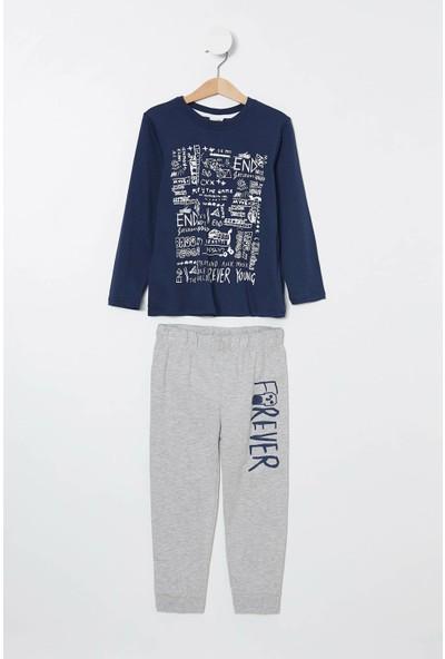 Defacto Erkek Çocuk Baskılı Pijama Takımı