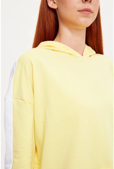 Defacto Kadın Uzun Kollu Sweat Tunik