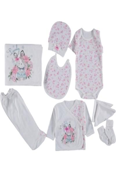 Yumurcak 10 Lu Kız Bebek Hastane Çıkışı Zıbın Seti 202