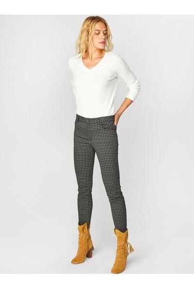 Faik Sönmez Kadın Fitilli Sweatshirt 39623